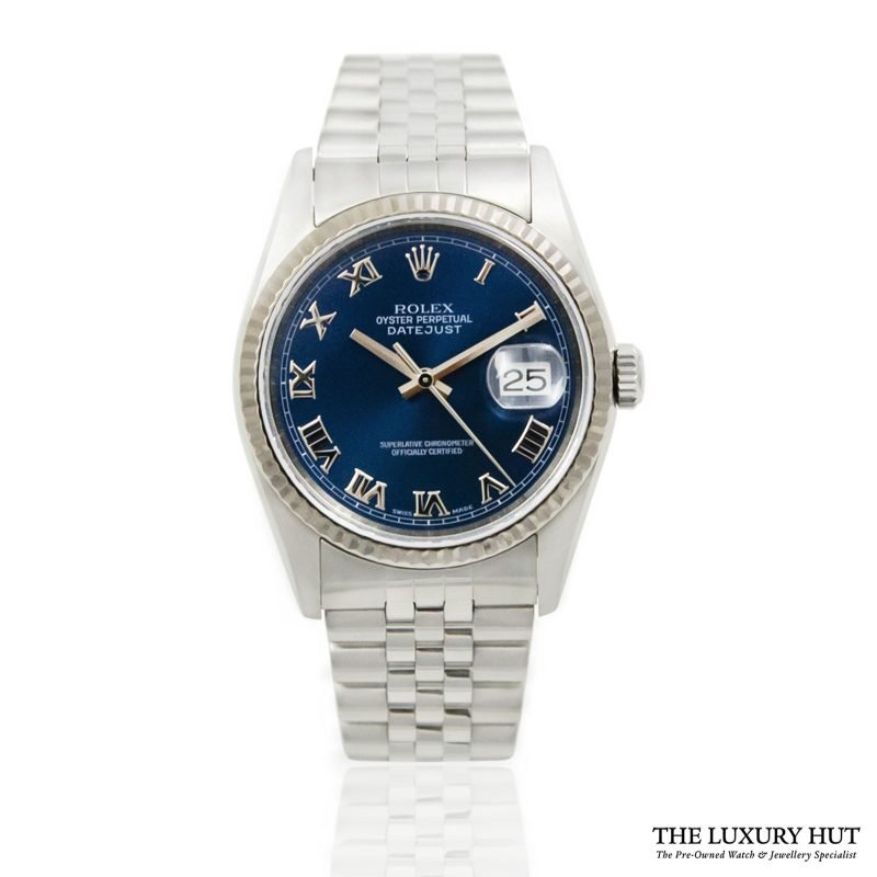 Shop Rolex Datejust 36mm Watch Ref: 16234 - 2004 - Order Online Today For Next Day Delivery.