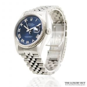 Shop Rolex Datejust 36mm Watch Ref: 16234 - 2004 - Order Online Today For Next Day