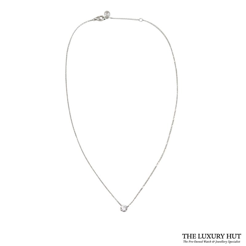 Shop Cartier 18ct White Gold & Diamond Necklace - Order Online Today For Next Day Delivery.