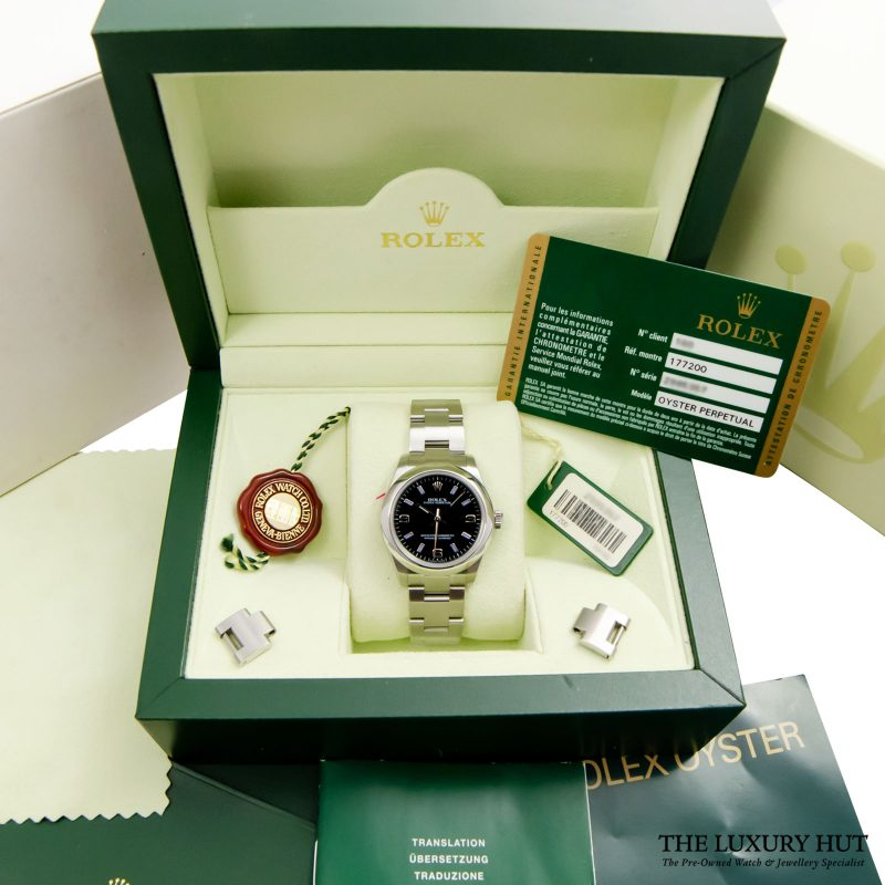 Rolex Oyster Perpetual Watch Ref: 177200 Delivery.