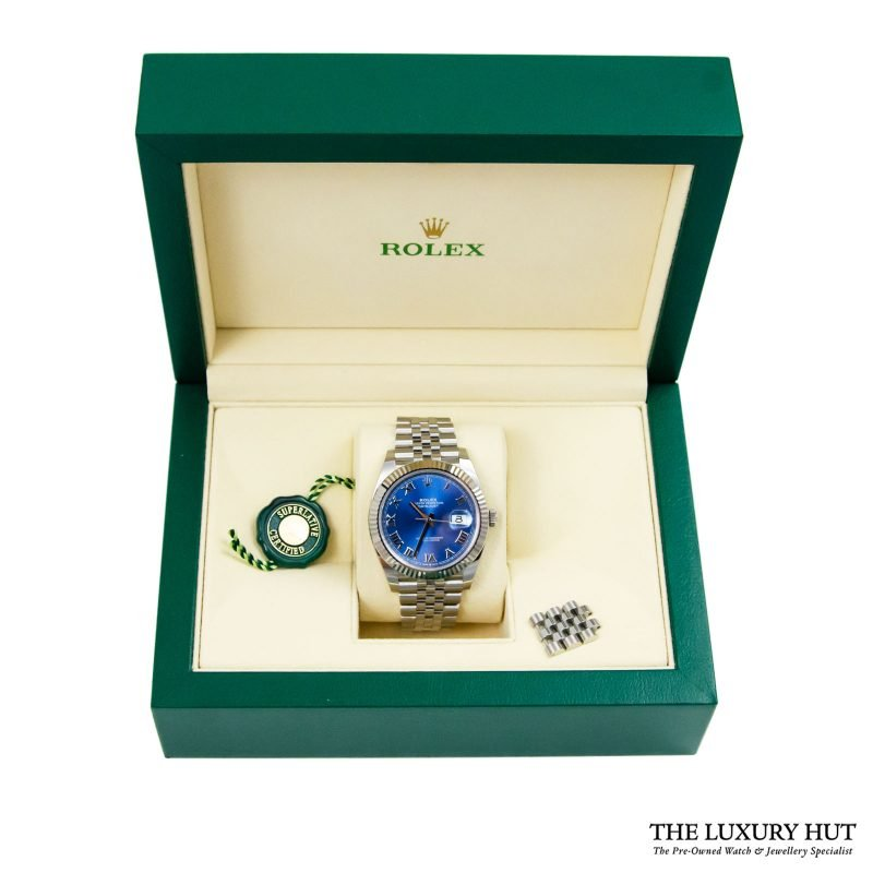 Rolex Datejust 41mm Watch Ref: 126334 - Order Delivery.