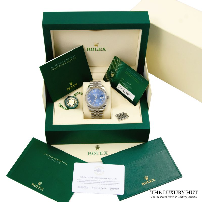 Rolex Datejust 41mm Watch Ref: 126334 - Delivery.