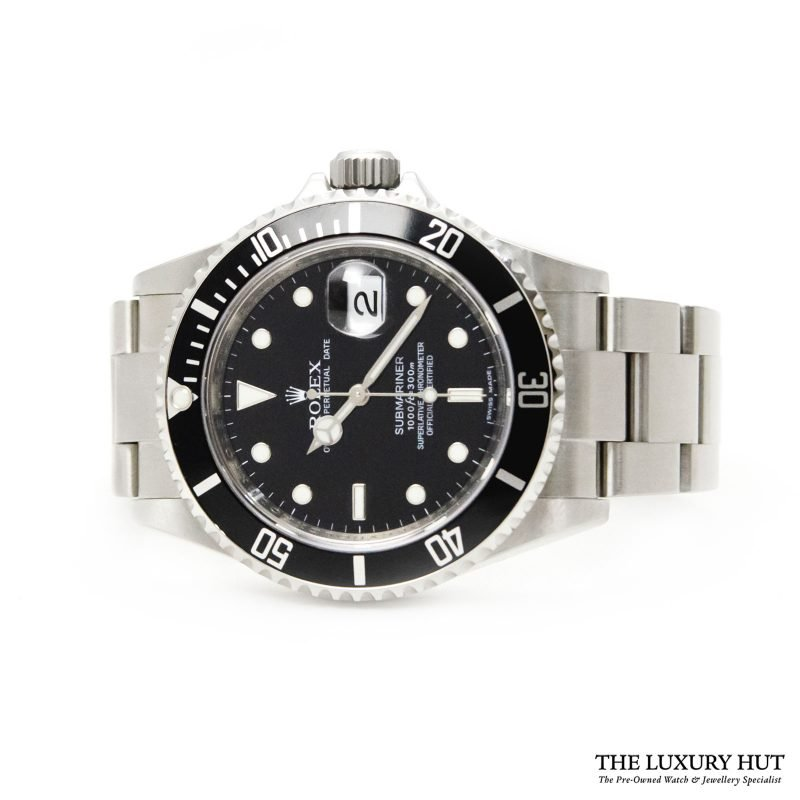 Rolex Submariner Date Watch Ref: 16610 - Order