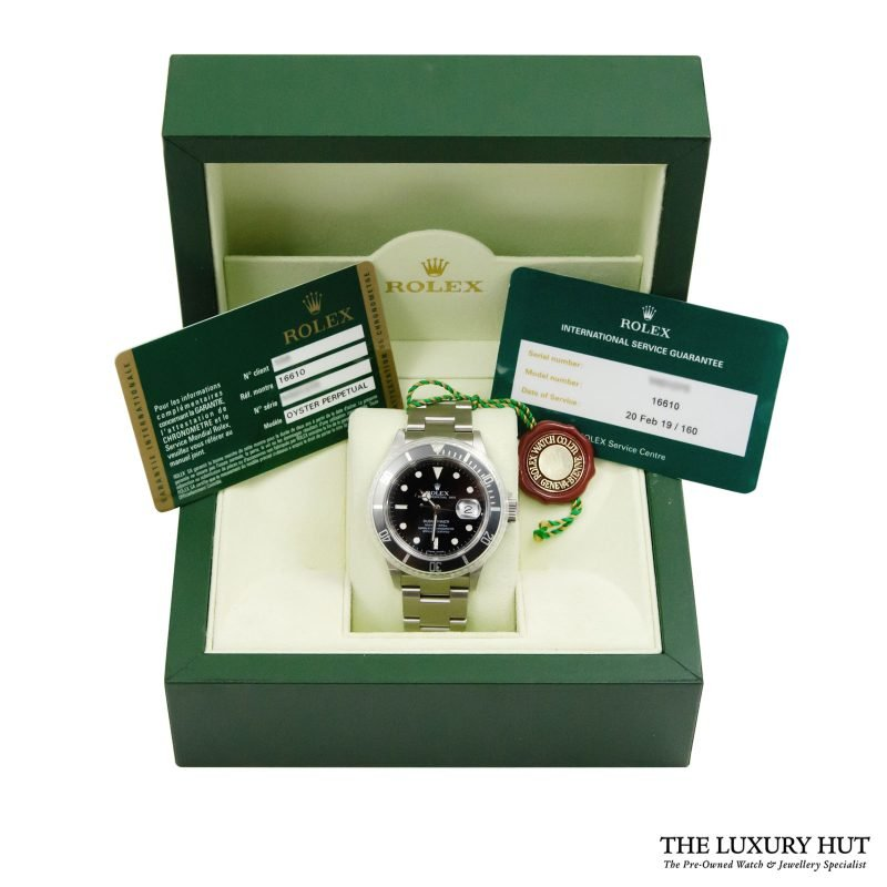 Rolex Submariner Date Watch Ref: 16610 - Order Delivery.