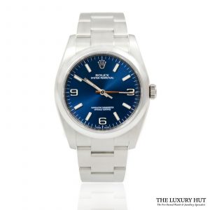 Shop Rolex Oyster Perpetual 36mm Watch Ref: 116000 - Order Online Today For Next Day Delivery