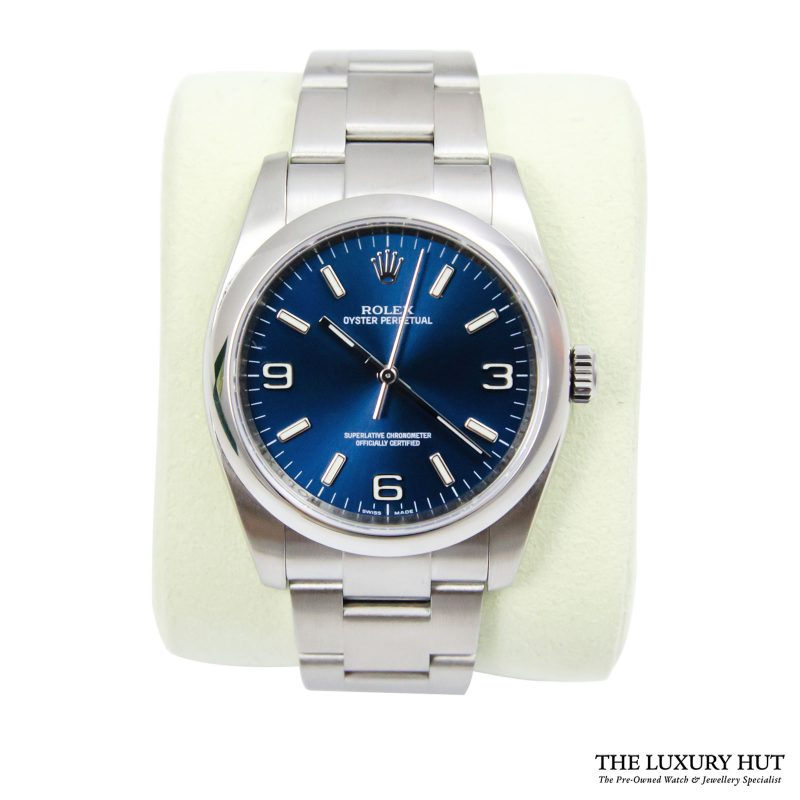 Shop Rolex Oyster Perpetual 36mm Watch Ref: 116000 - Order