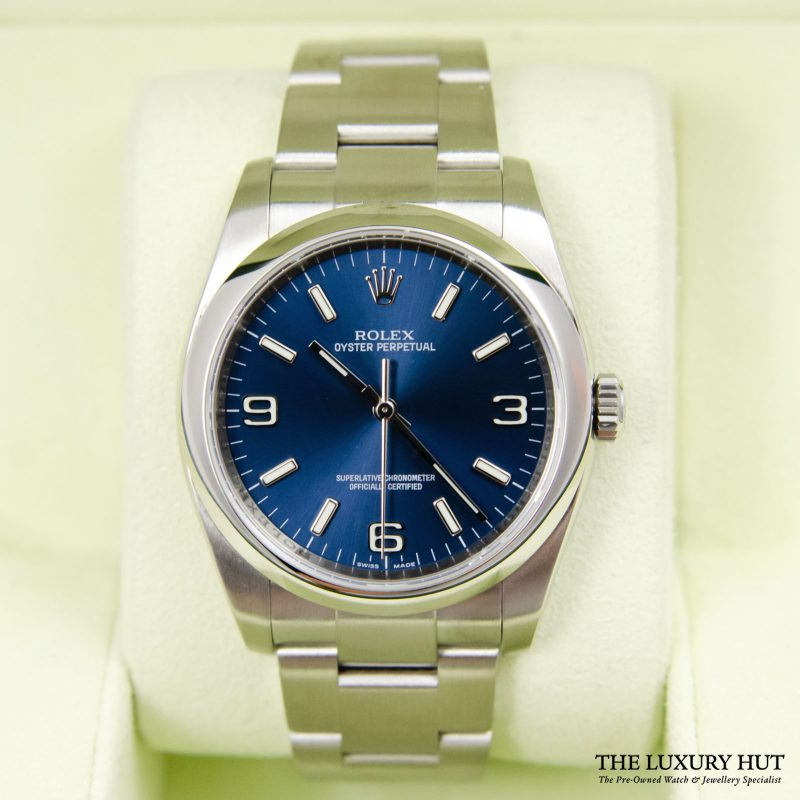 Shop Rolex Oyster Perpetual 36mm Watch Ref: 116000 - Order Online Today Delivery