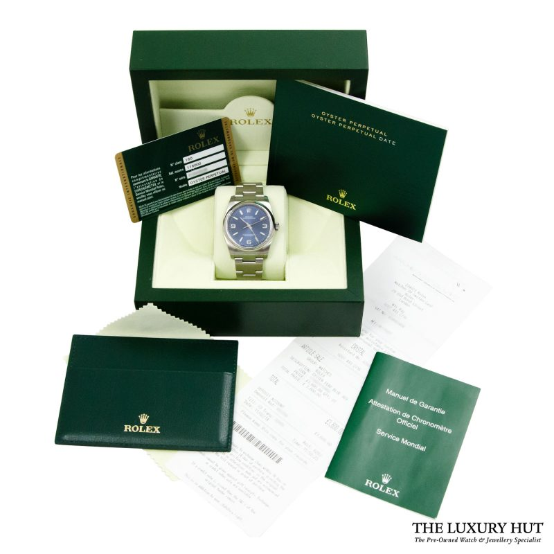 Shop Rolex Oyster Perpetual 36mm Watch Ref: 116000 - Order Delivery