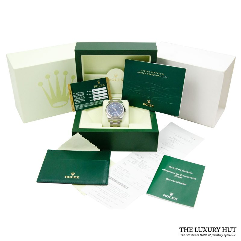 Shop Rolex Oyster Perpetual 36mm Watch Ref: 116000