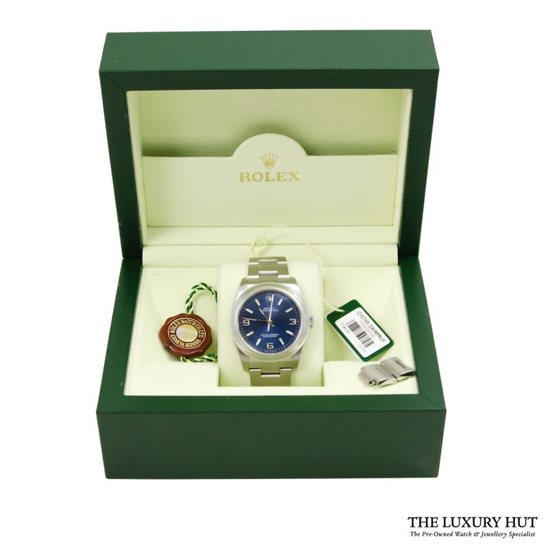 Shop Rolex Oyster Perpetual 36mm Watch Ref: 116000 - Delivery