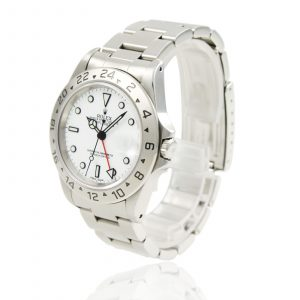 Shop Rolex Explorer II White Dial Polar Watch