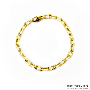 Buy Cartier 'Santos de Cartier' 18ct Gold Chain Bracelet