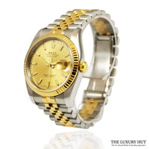 Rolex Datejust 36mm Bi-Metal Watch Ref: 116233 - order online today for next day