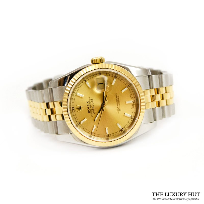 Rolex Datejust 36mm Bi-Metal Watch Ref: 116233 - order online today