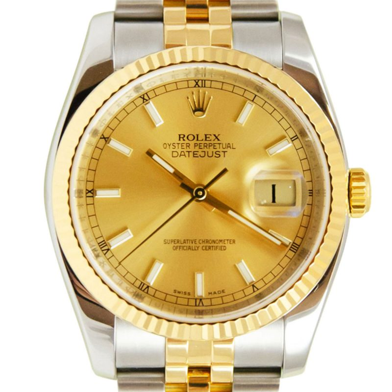 Rolex Datejust 36mm Bi-Metal Watch Ref: 116233 - order online