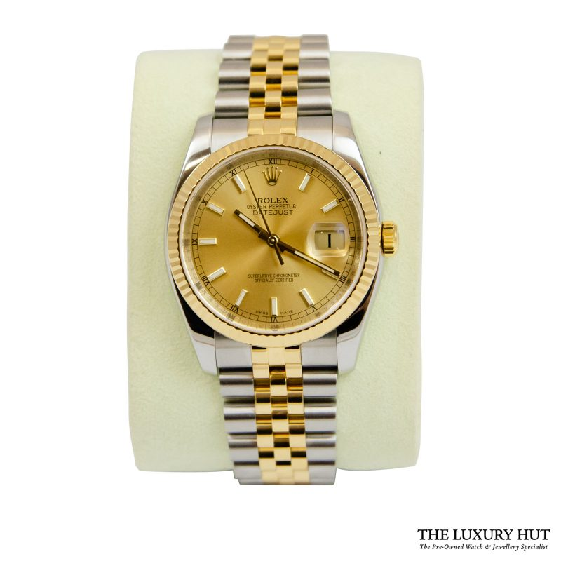 Rolex Datejust 36mm Bi-Metal Watch Ref: 116233 - order