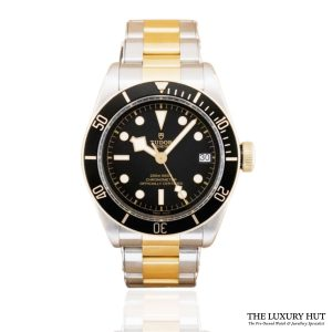 Tudor Black Bay S&G Black Dial Watch Ref: M79733N - order online today for next day delivery.