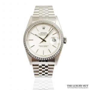 Shop Rolex Datejust 36mm Watch Ref:16220