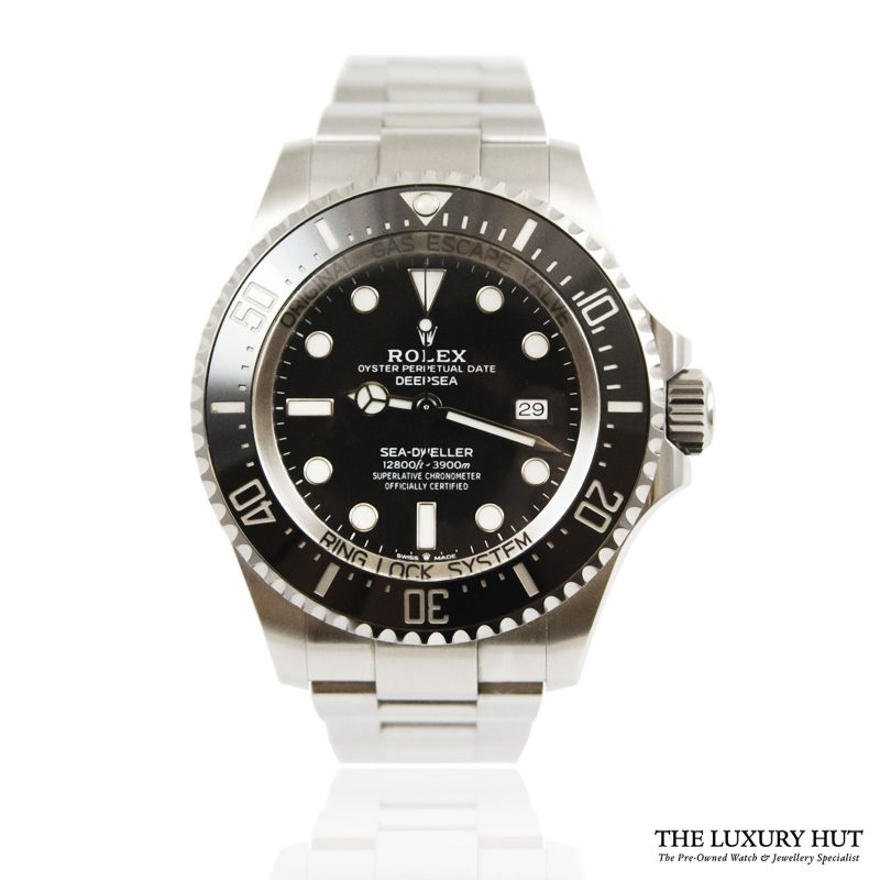 Rolex Sea-Dweller Deepsea 44mm Watch Ref: 126660 - order online today for next day delivery.