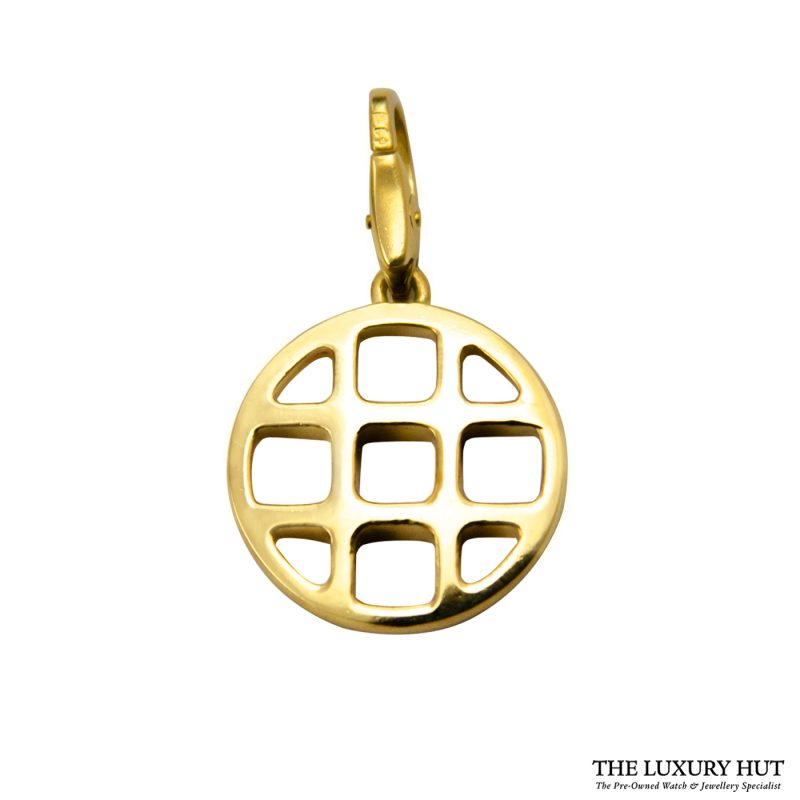 Shop Cartier Pasha 18ct Yellow Gold Charm Pendant order online today
