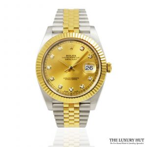 Rolex Datejust 41 Bi-Metal Watch Ref: 126333 order online today for next day delivery.