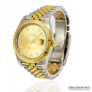 Rolex Datejust 41 Bi-Metal Watch Ref: 126333 order online today