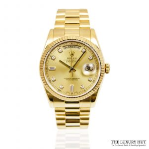 Rolex President Day-Date Watch Ref: 118238 - order online today for next day delivery.