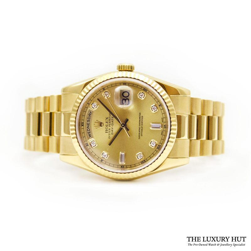 Rolex President Day-Date Watch Ref: 118238 - order online today delivery.