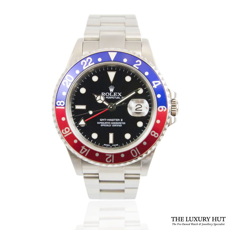 Shop Rolex GMT-Master II Pepsi Watch Ref: 16710 - 2004 - Order Online Today For Next Day Delivery