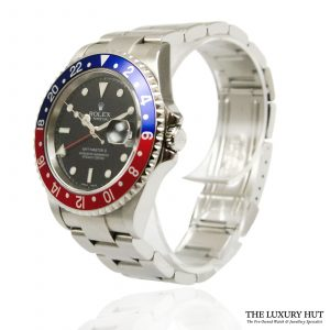 Shop Rolex GMT-Master II Pepsi Watch Ref: 16710 - 2004 - Order Online Today For Next Day
