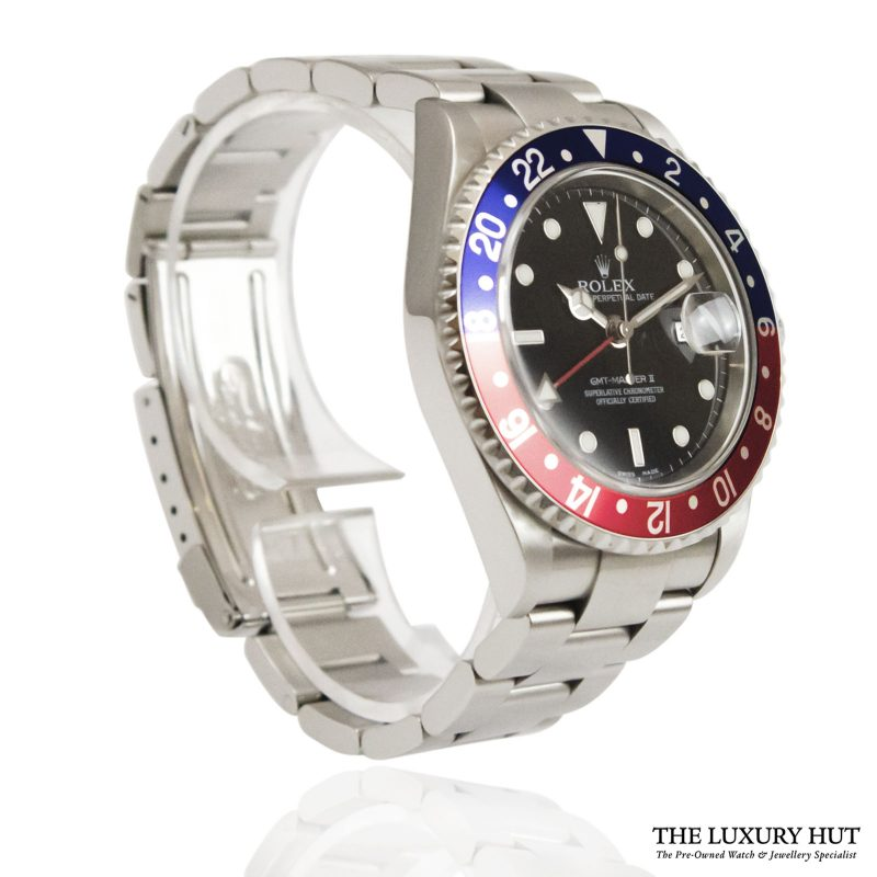 Shop Rolex GMT-Master II Pepsi Watch Ref: 16710 - 2004 - Order Online Today For Next