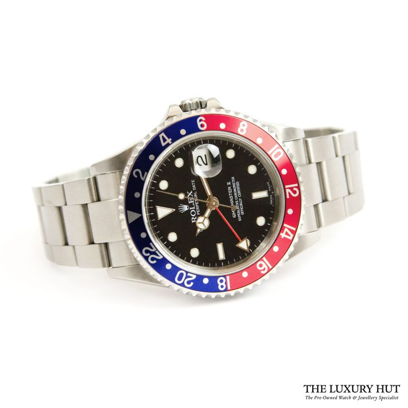 Shop Rolex GMT-Master II Pepsi Watch Ref: 16710 - 2004 - Order Online