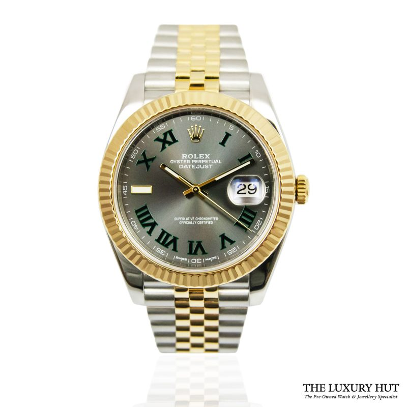 Rare Rolex Datejust 41 Bi-Metal Watch Ref: 126333 - order online today for next day delivery.