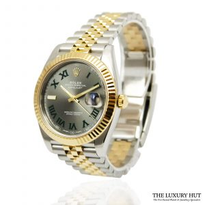 Rare Rolex Datejust 41 Bi-Metal Watch Ref: 126333 - order online today for next day