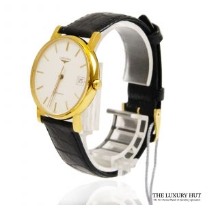 Longines 18ct Yellow Gold Quartz Watch Ref: L7.889.6 order online today for next day