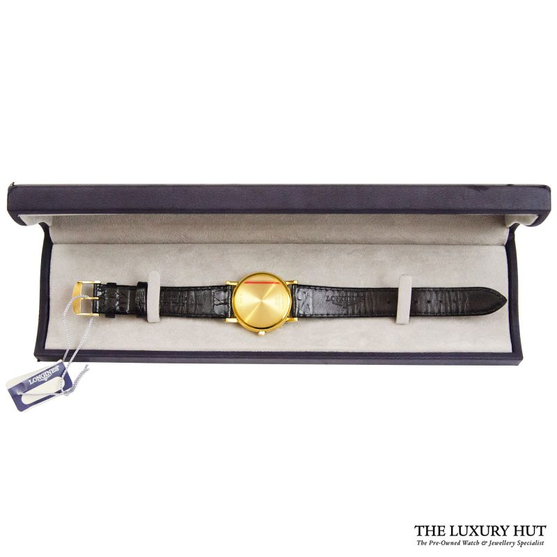 Longines 18ct Yellow Gold Quartz Watch Ref: L7.889.6 order online today delivery.