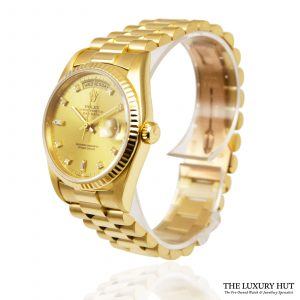 Rolex President Day-Date 36mm Watch Ref: 18238 - order online today for next day
