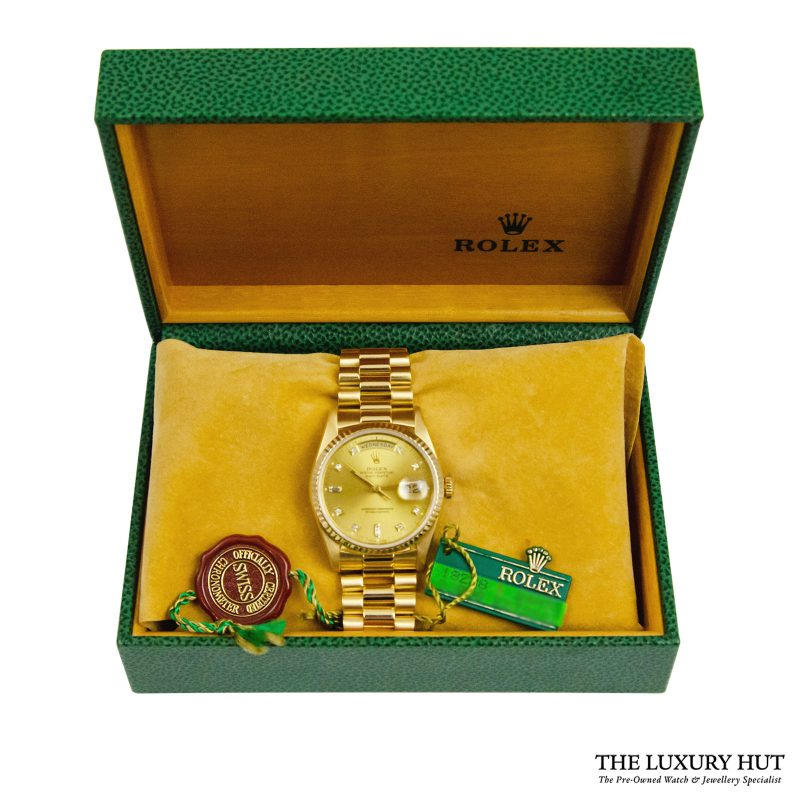 Rolex President Day-Date 36mm Watch Ref: 18238 - order delivery.