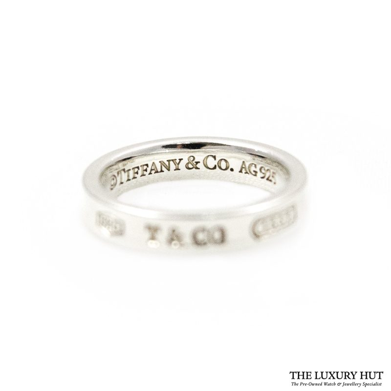 Shop Tiffany & Co. 1837 Sterling Silver Band Ring & Earrings order online today