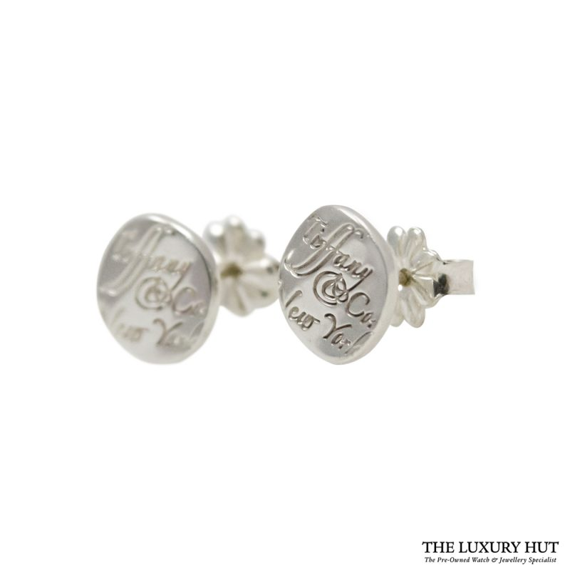 Shop Tiffany & Co. 1837 Sterling Silver Band Ring & Earrings order online today delivery.