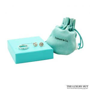 Shop Tiffany & Co. 1837 Sterling Silver Band Ring & Earrings order online