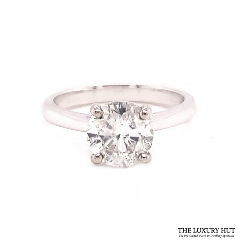 Shop Platinum 1.51ct Diamond Engagement Ring order online today for next day delivery.