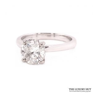 Shop Platinum 1.51ct Diamond Engagement Ring order online today for next day