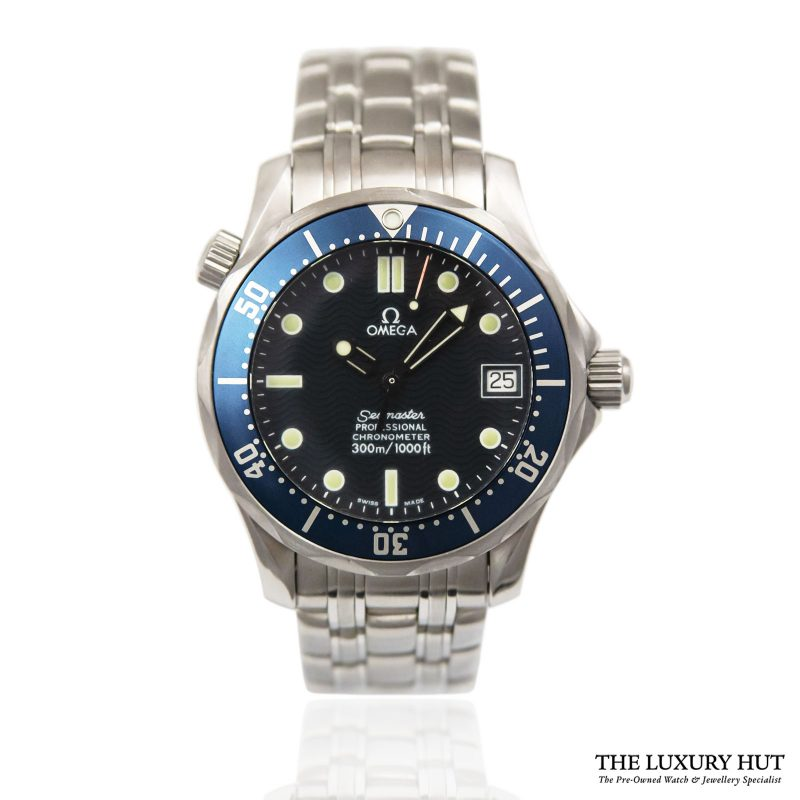 Shop Omega Seamaster Automatic Watch Ref: 25518000