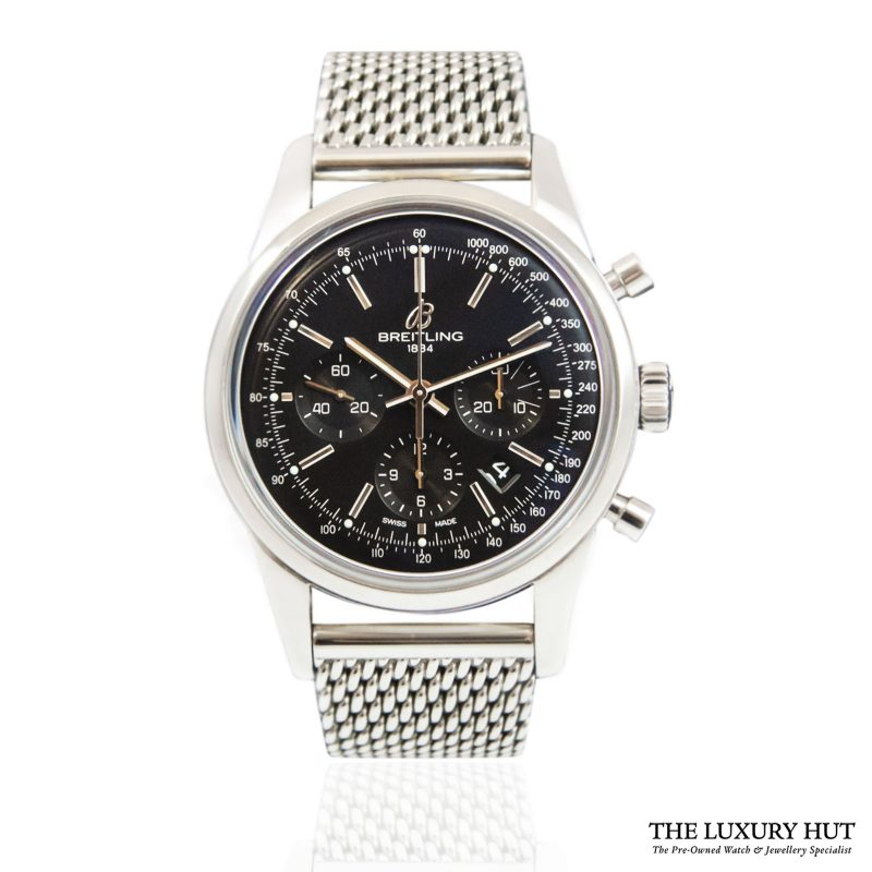 Breitling Transocean Chronograph Watch Ref: AB015212 - order online today for next day delivery.