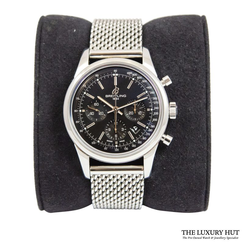 Breitling Transocean Chronograph Watch Ref: AB015212 - order delivery.