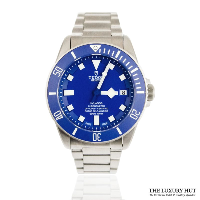 Tudor Pelagos Blue Automatic Watch Ref: M25600TB - order online today for next day delivery.