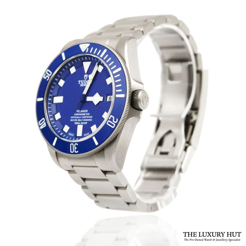 Tudor Pelagos Blue Automatic Watch Ref: M25600TB - order online today for next day