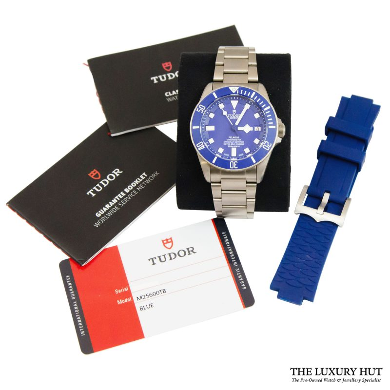 Tudor Pelagos Blue Automatic Watch Ref: M25600TB - order online today delivery.