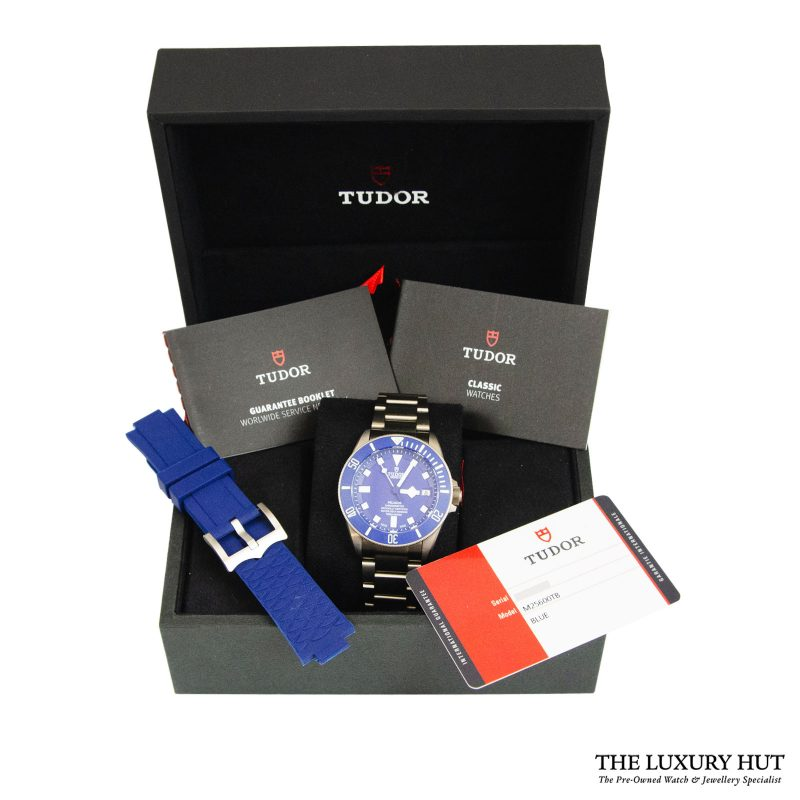 Tudor Pelagos Blue Automatic Watch Ref: M25600TB - order online delivery.